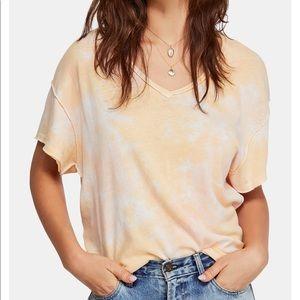 Beautiful Free People ty dye shirt